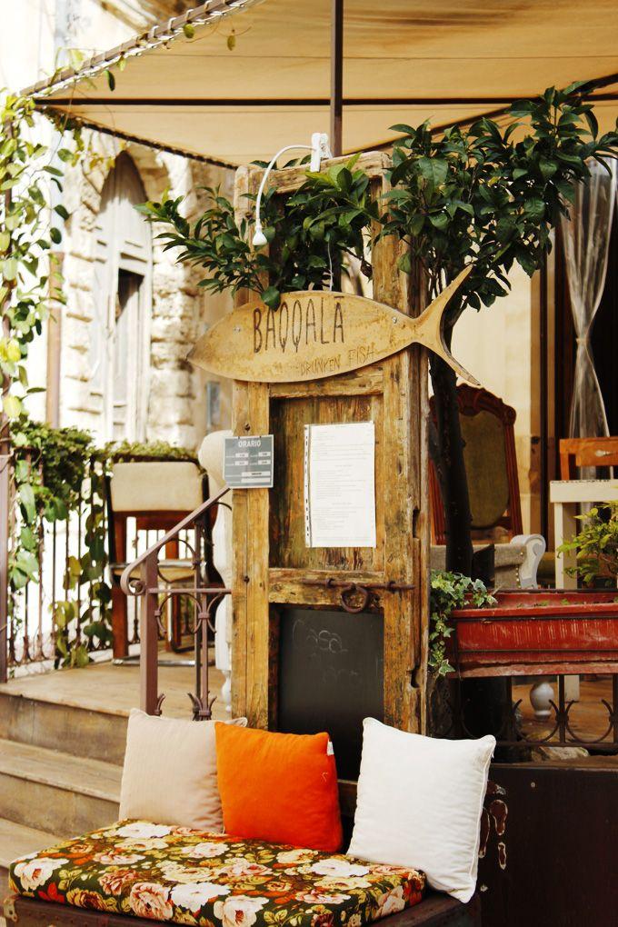 Baccala fish restaurant Scicli Sicily
