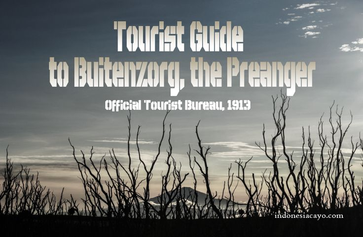 tourism indonesia gunung papandayan