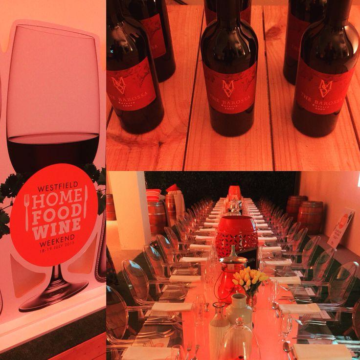 Launching #westfieldhfw with @foodaccordingtobree @msvwine