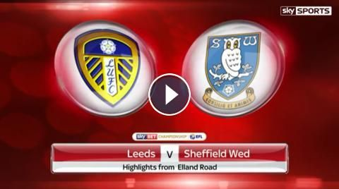 Leeds United 1 - 0 Sheffield Wednesday Highlights and Goals - Sky Bet Championship - 25 February 2017. Watch full time video highlights of EFL Champio...
