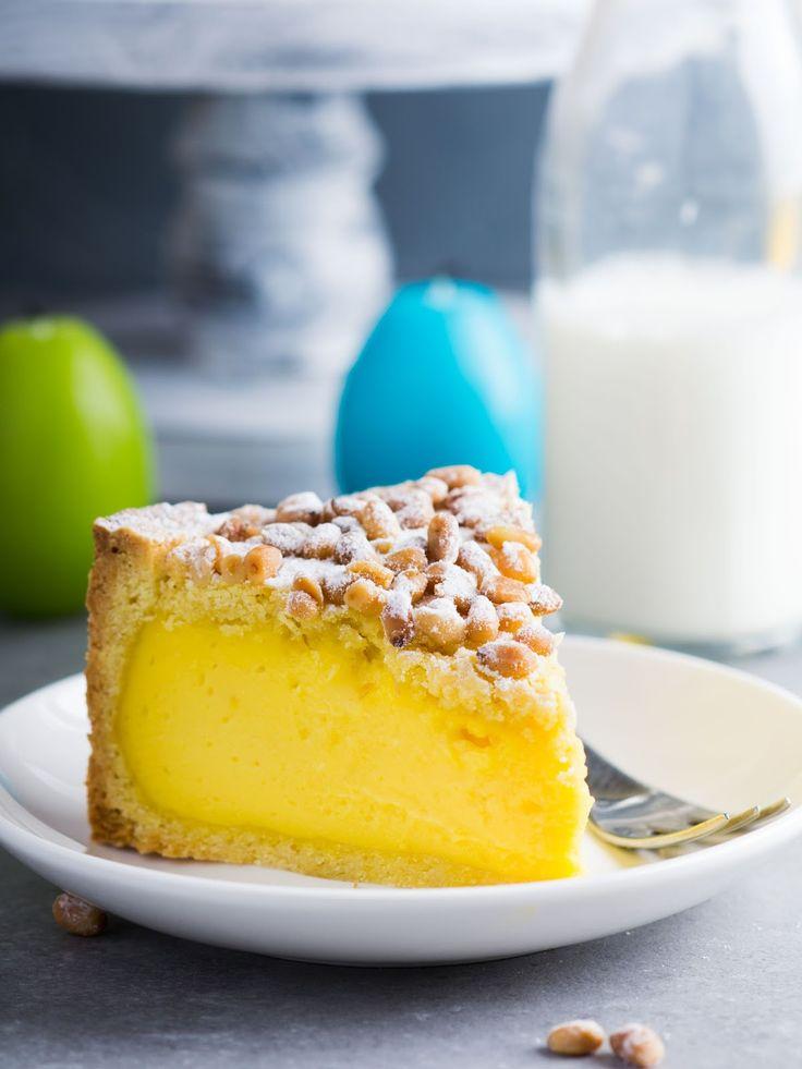Elena Demyanko: Итальянский Бабушкин торт / Italian Grandma's Cake Torta Della Nonna