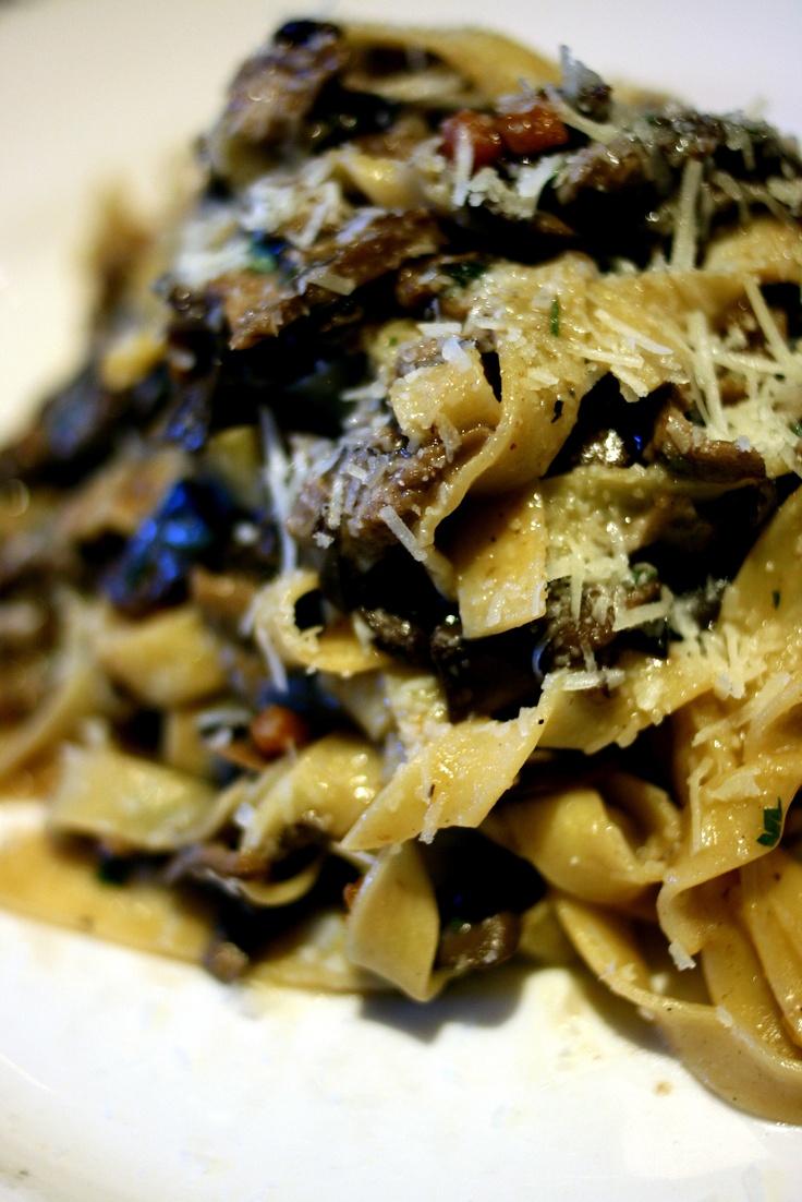 Not sure what to make tonight? Why not try La Tavola's delicious Mushroom Ragu? #whattocook #recipe #latavolaATL #atlanta #pasta #vegerarian