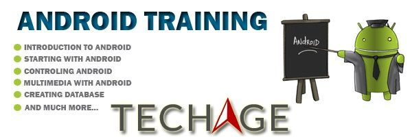 Join TechAge Academy for Live Project based Industrial Android Training in Noida, Delhi, Faridabad, Agra.Call for more details:- +91-9212063532, +91-9212043532 Visit : http://www.techageacademy.com/courses/android-training/