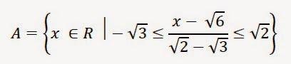 Matematică - rezolvări detaliate: Exerciţiu cu mulțimi și radicali, clasa a 7-a, Lum...