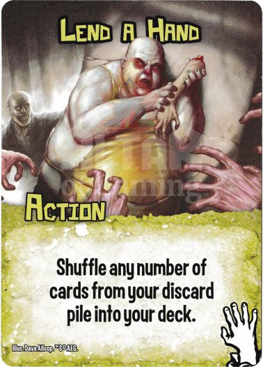 Lend a Hand - Zombies - Smash Up Card | Altar of Gaming