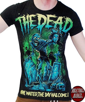 CAMISETA  DARKSIDE CLOTHING THE DEAD