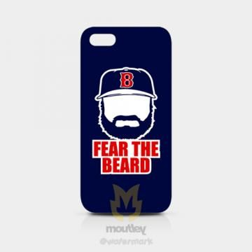 Jonny Gomes Boston Red Sox Fear The Beard IPhone 5/5S Hardcase Blue by moutley for $14.00