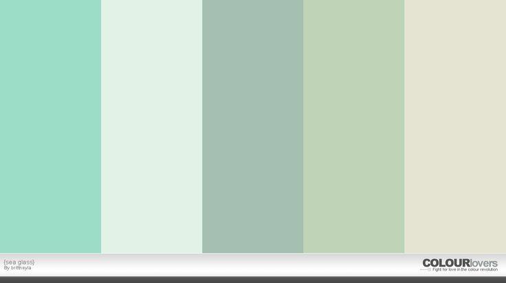 SeaglassI Love His Colors Beachy Pinterest Glass