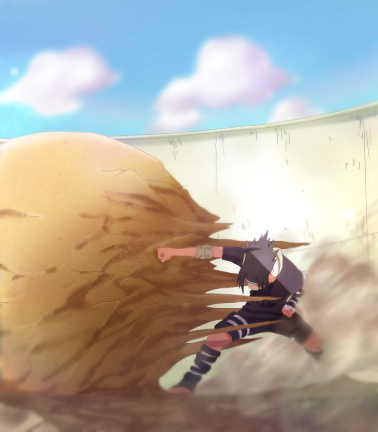 Sasuke VS Gaara color by afran67 by afran67.deviantart.com on @DeviantArt