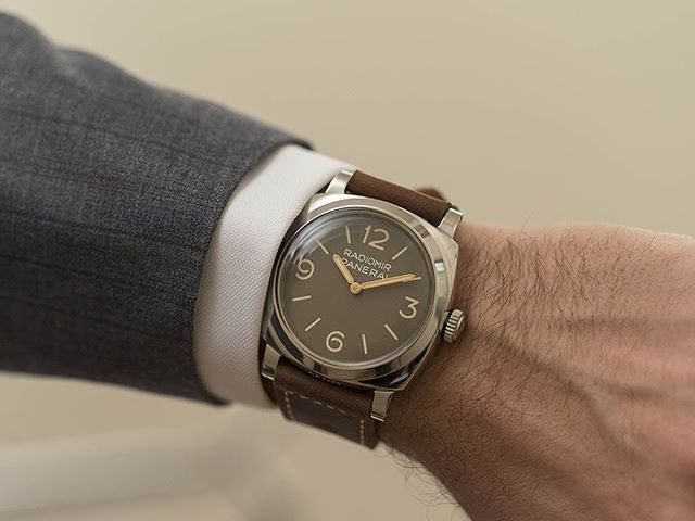 The Panerai Radiomir 1940 3 Days Acciaio - a rediscovered 1954 legend. Released at #SI... | Use Instagram online! Websta is the Best Instagram Web Viewer!