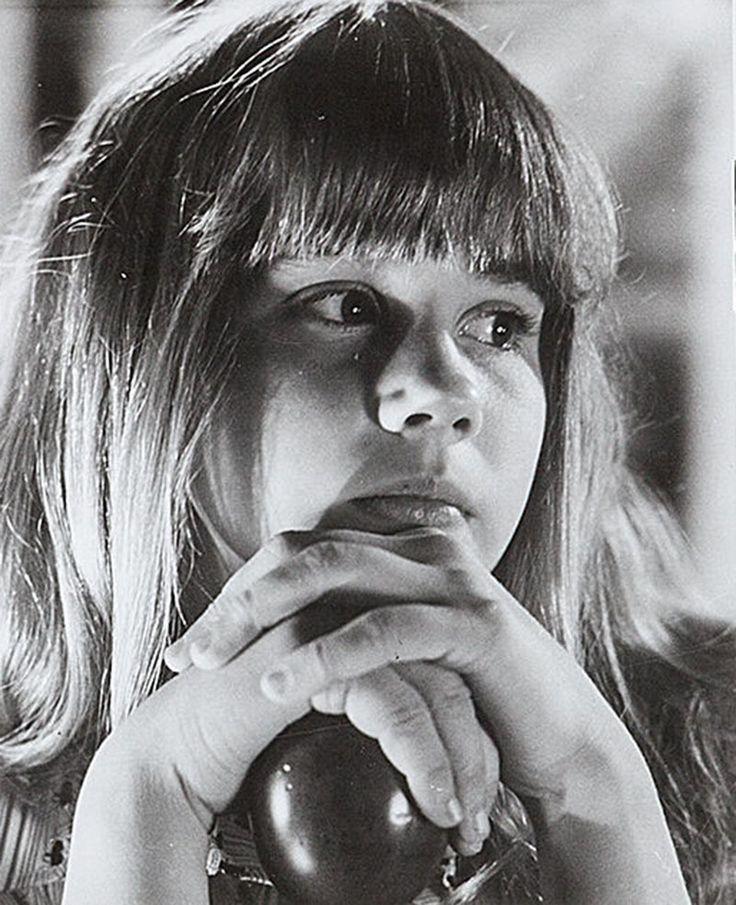 "Linda Blair en ""El Exorcista"", 1973"