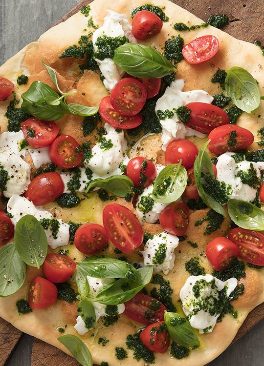 How to make Tomato & Basil Pizza