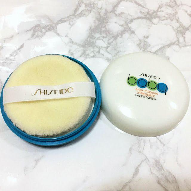 Shiseido S Medicated Baby Pressed Powder Shiseido Baby Powder Pressed Powder