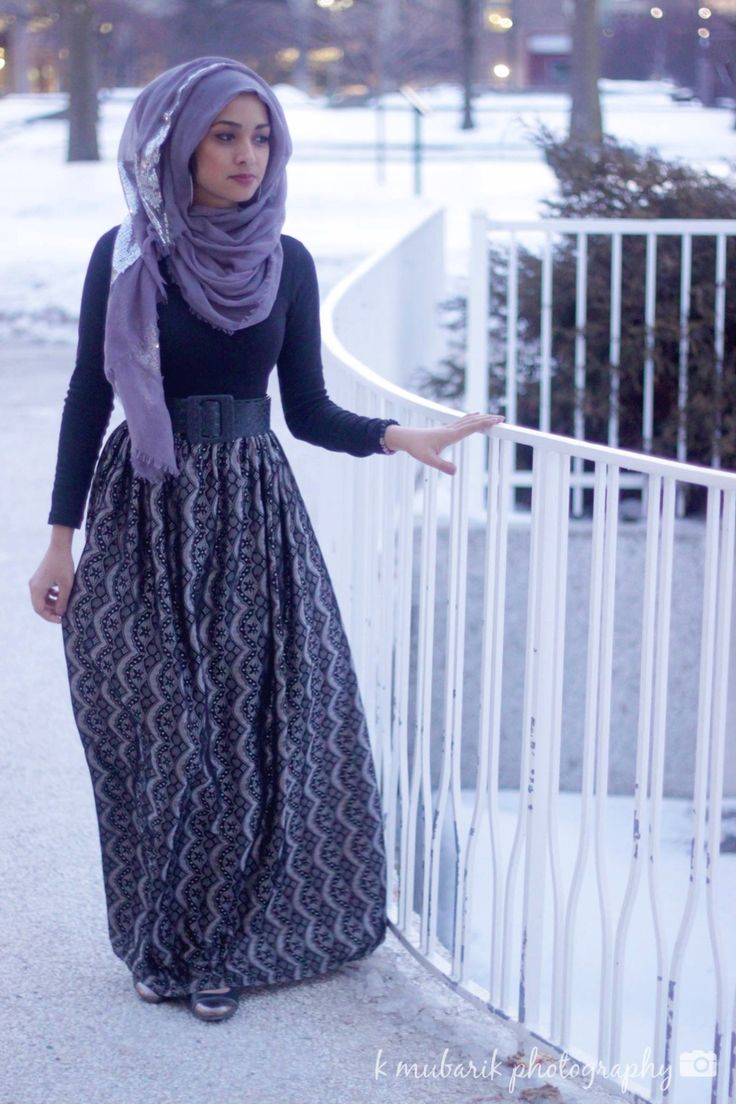 Modest fashion from Detroit Muslimahs