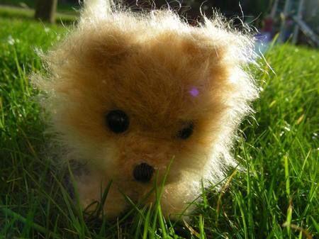 Free Amigurumi Dog Pattern | ... free amigurumi pattern for a Pomeranian by Roman Sock is simply the