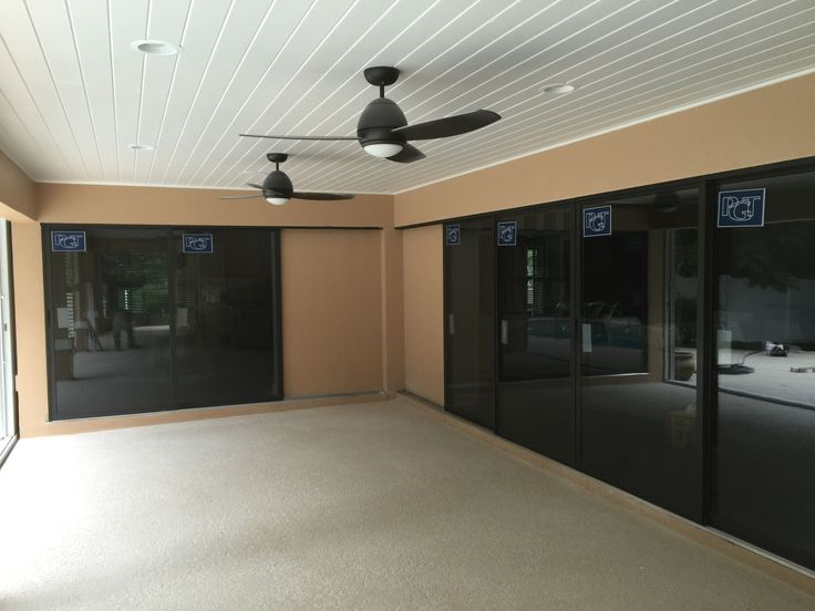 Bronze Pgt Impact Sliding Glass Doors In 2019 Impact