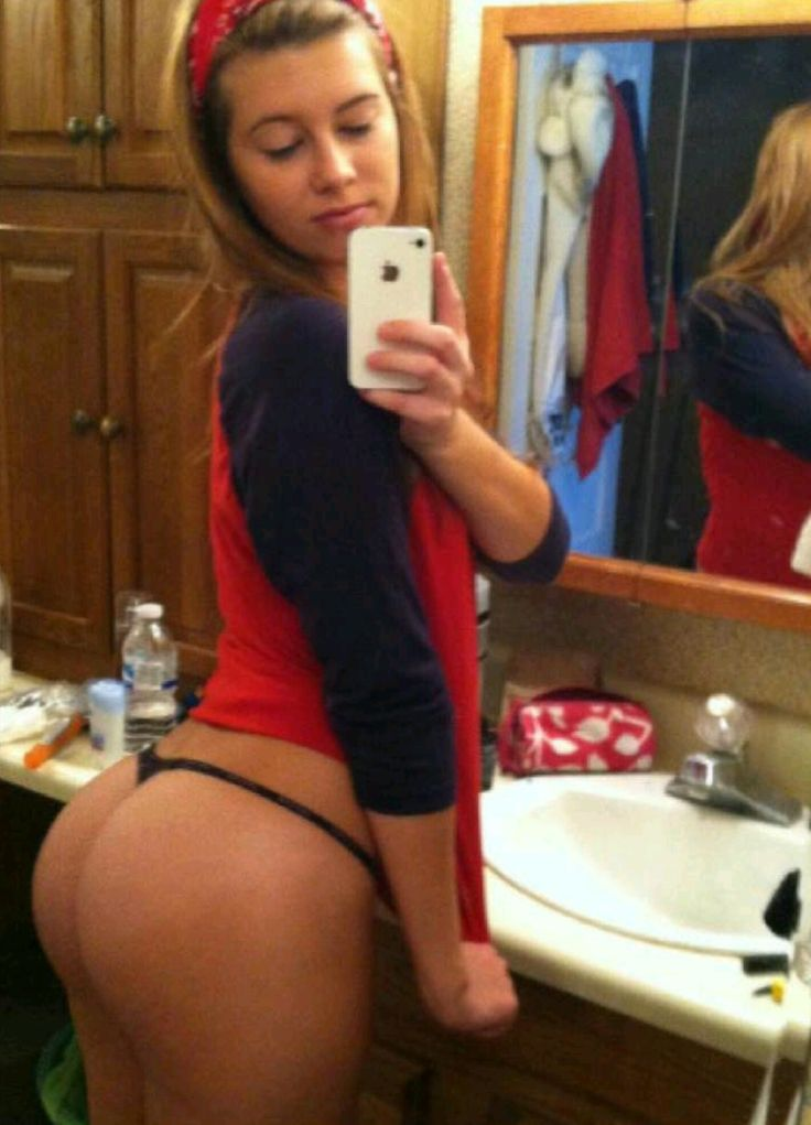 image Sexy pawg white girl in a cute dress twerks her perfect porcelain ass