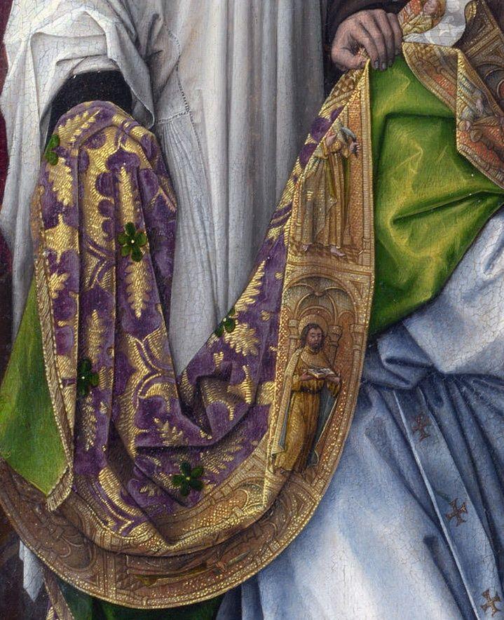 Rogier van der Weyden and workshop, 1430s - The Exhumation of Saint Hubert