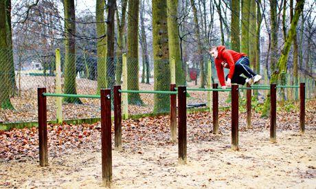 Hürden 110 cm_Trimm-dich-Pfad_Outdoor Fitnessgeräte