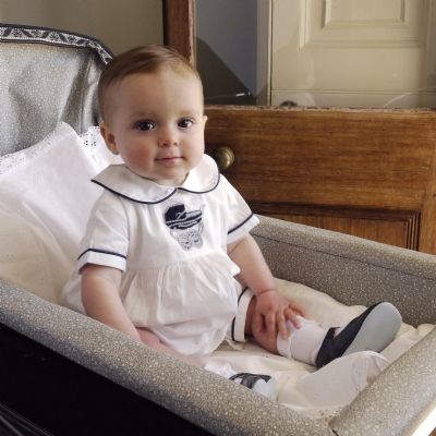 Clothing & Accessories Babysuits Pram Embroidered Babysuit