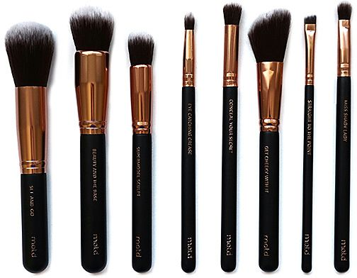 M.O.T.D. Cosmetics Lux Vegan Make Up Brush Essentials