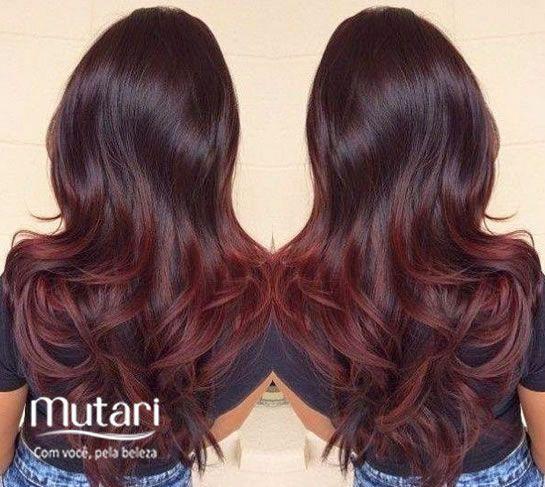 Cor de cabelo marsala - como fazer