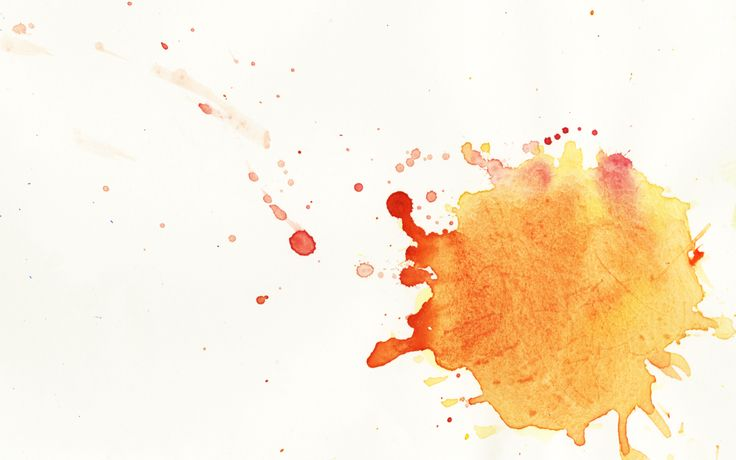 Watercolor Splatter Transparent