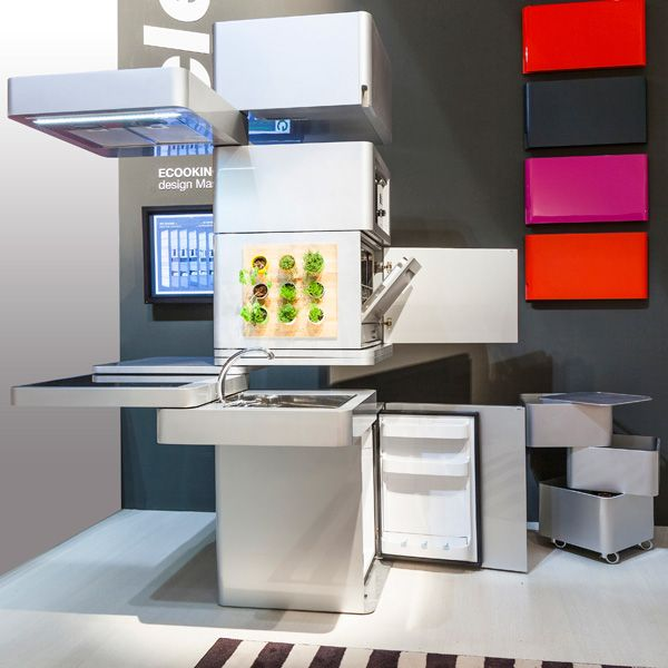 Ecooking vertical kitchen / Massimo Facchinetti for CLEI