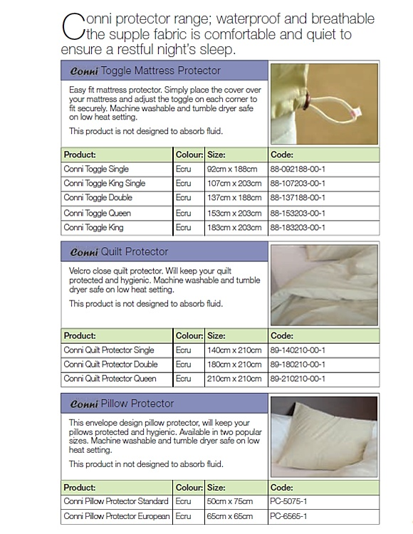Adult Incontinence Bed Protectors  Western Cape, South Africa.    Contact Conni-Western Cape (Pty) Ltd.  Adult Incontinence Products  Western Cape, South Africa  Call: 081 772 6015  Email: JP.vZ@Conni.co.za