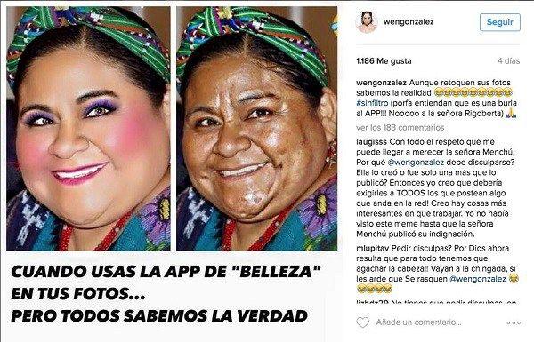 Rigoberta Menchú exige disculpas por burla en Instagram - https://webadictos.com/2016/05/26/rigoberta-menchu-burla-instagram/?utm_source=PN&utm_medium=Pinterest&utm_campaign=PN%2Bposts