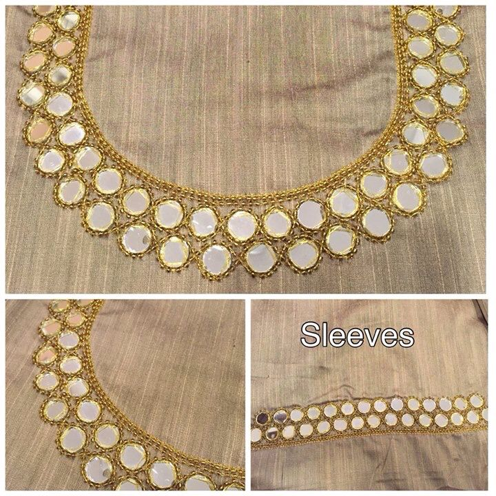 Mirror work Pinterest : @nivetas https://www.facebook.com/punjabisboutique…