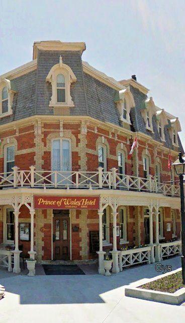 Prince of Wells Hotel, Niagara on the Lake, Ontario, Canada