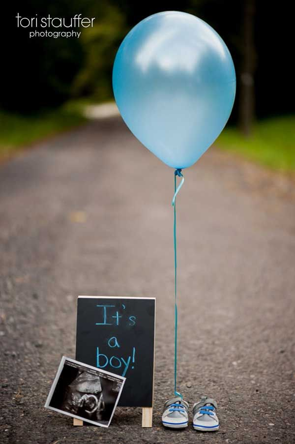 Simple gender reveal picture... 80 Gender Reveal Ideas | Tiny Prints