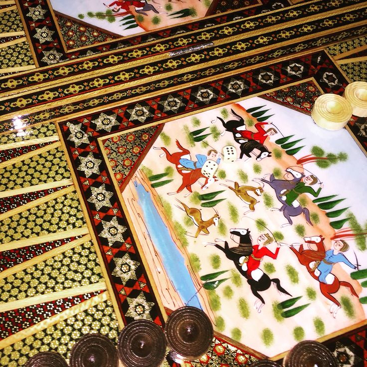 Backgammon / Triktrak / تخته نرد