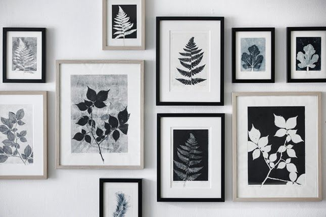 Happy Interior Blog: Botanical Prints By Pernille Møller Folcarelli