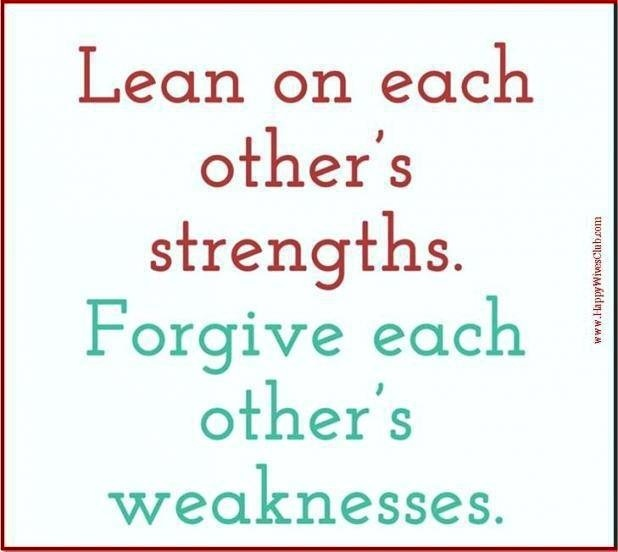 Quotes About Strengths And Weaknesses: Strengths And Weaknesses Quote Via Happwivesclub.com