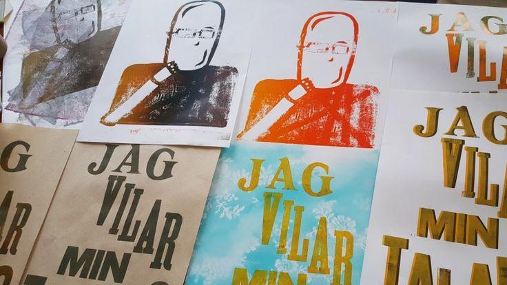 Ekmannen – Letterpress på Rundqvist & Co