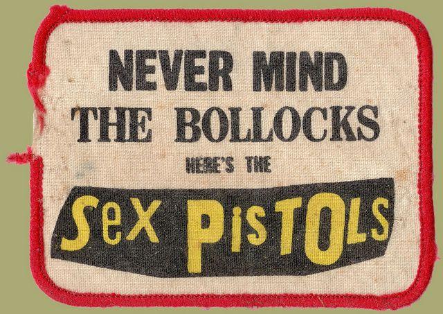 sex pistols patch