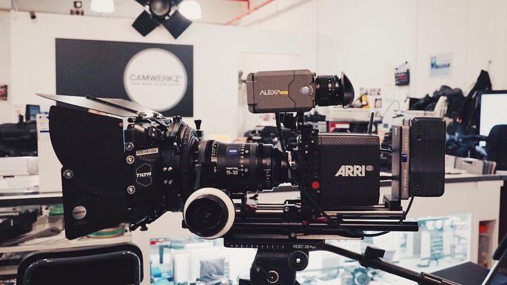 Alexa Mini is a compact cine camera.