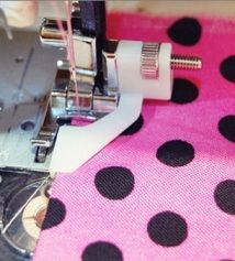 Tutorial: Costura agradável e reta usando o pé cego   – Sewing Machines