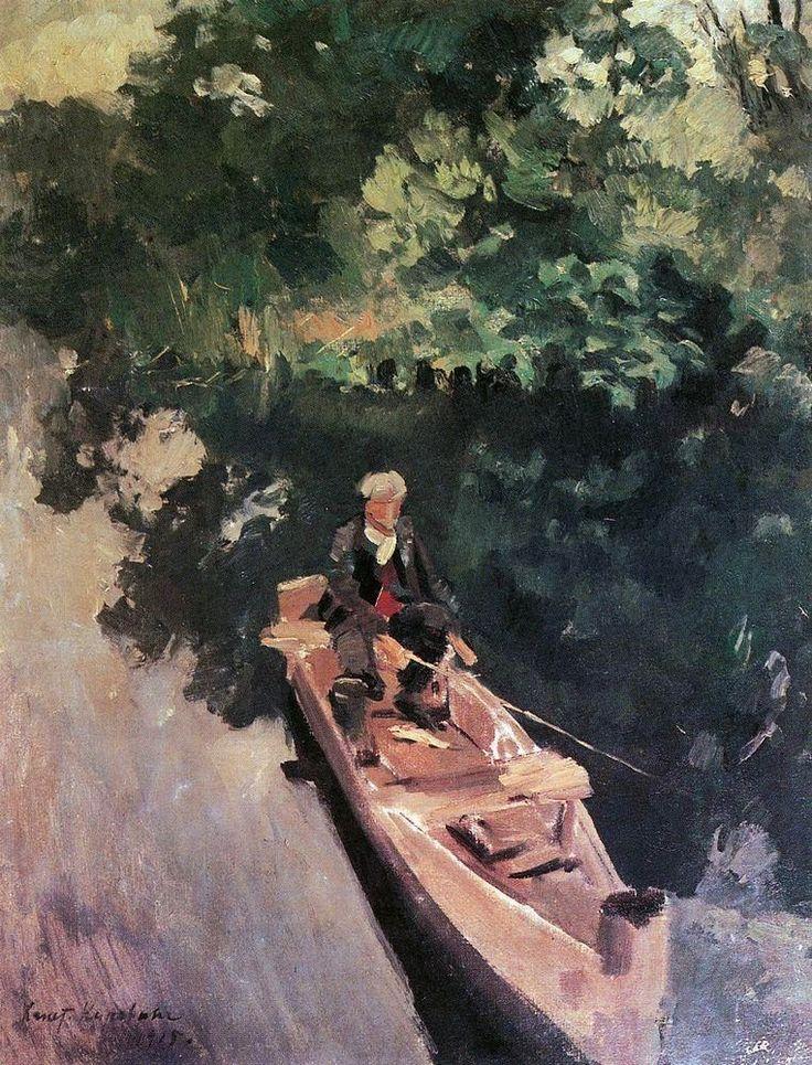 Konstantin Korovin, In the Boat, 1915