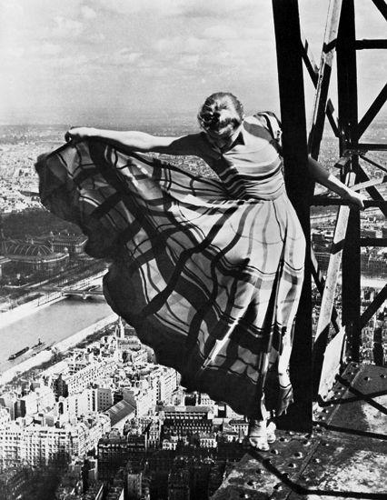 Erwin Blumenfeld, The Eiffel Tower (1939)
