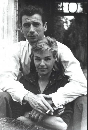 Yves Montand and Simone Signoret, 1960's