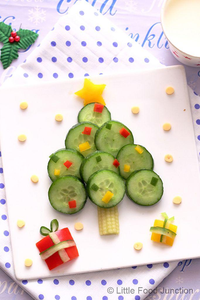https://flic.kr/p/iynC7e | Xmas tree salad | www.littlefoodjunction.com/2013/12/christmas-3.html#.UrvX...