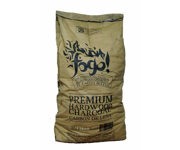This Fogo premium hardwood charcoal is all natural, made sustainably from dense Central American hardwoods. It lights very quickly and burns very hot.