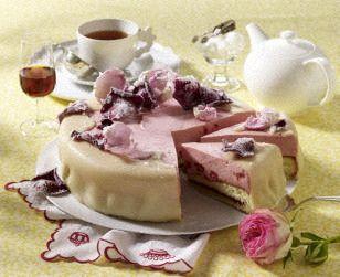 Sherry-Himbeer-Torte mit Marzipandecke