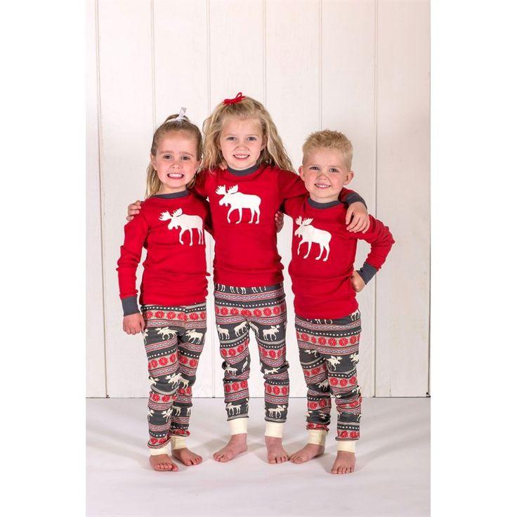 Moose Fair Isle Long Sleeve Pyjamas Set