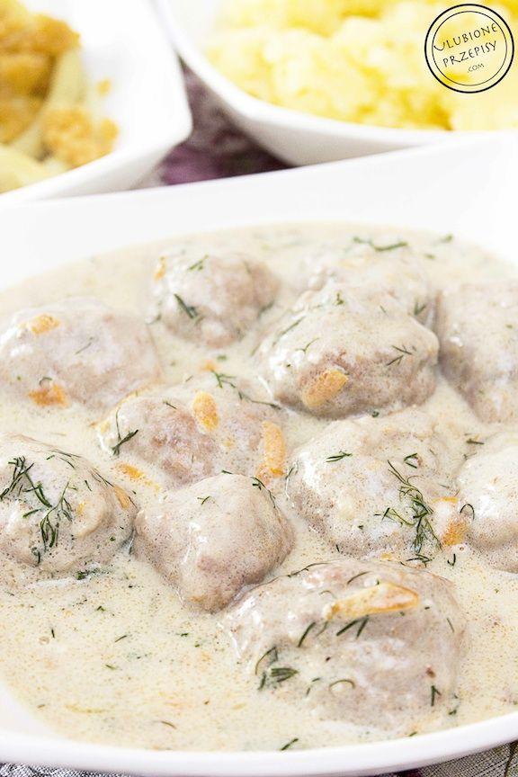 Moja propozycja na dzisiejszy obiad - rozpływające się w ustach klopsiki w sosie koperkowym  Pycha. Polecam! http://ulubioneprzepisy.com/2014/07/02/klopsiki-w-sosie-koperkowym/
