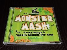 Monster Mash CD Halloween Party Songs Kids Spooky Sounds Fun Ghostbusters Song
