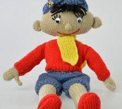 Noddy knitting pattern. #Knitting #Toy #Craft #SouthAfrica